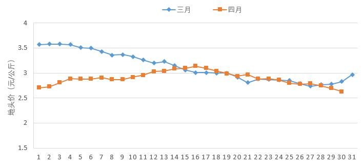 4月份蔬菜地头价同比下降    预计5